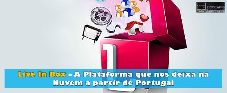 Live In Box – A Plataforma que nos deixa na Nuvem a partir de Portugal  Live In Box, é uma plataforma de armazenamento na nuvem, mas será uma plataforma como as outras comuns que já existem no mercado? Afinal temos o Dropbox, ou iCloud, entre outros.  Não é só armazenamento na nuvem, não é só baixar ou carregar imagens, não é só 3 GB, ou 500 GB ou 1 TB. Convite: http://www.libertagia.com/energie001