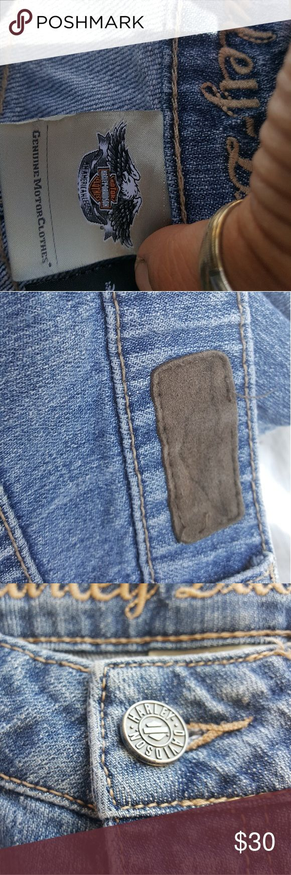 Harley Davidson jeans Worn a few times Harley-Davidson Jeans Boot Cut