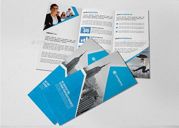 Marketing Brochure Template Corporate Tri Fold Brochure Template