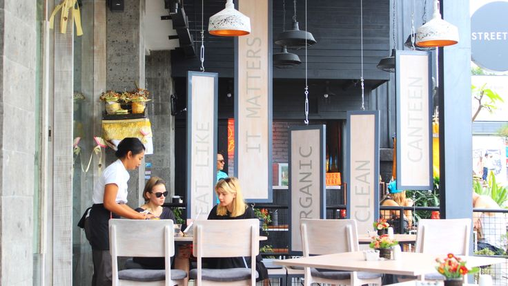 Clean Canteen at Petitenget Bali, Indonesia by Tedi Wahyu and Palm Emas