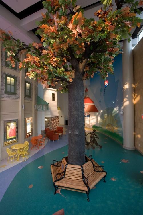 Lobby Tree at American Family Children's Hospital