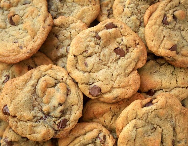 Caramel Toffee Chocolate Chip Cookies | Desserts | Pinterest