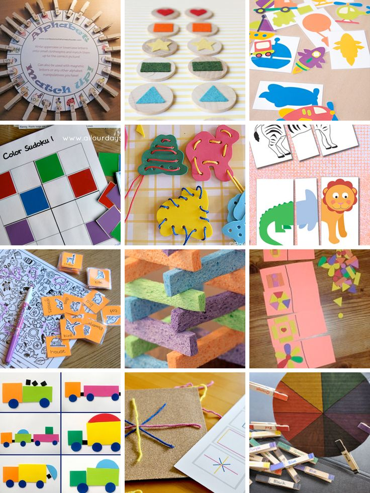 Ever since I discovered busy bags, I have been googling and pinteresting for all the best ideas out there! I wrote a tutorial for making a Color Matching Activity just the other day. Check that tut...