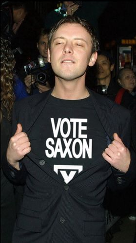 "John Simm = THE Master. ""I'm voting Saxon. He can tick my box any day."" For.Reals. #DoctorWho"