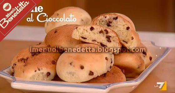 Panini con Gocce di Cioccolato | la ricetta di Benedetta Parodi
