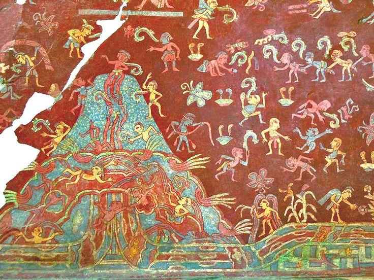 W2-0025: Mountain of Abundance #teotihuacan #tepantitla