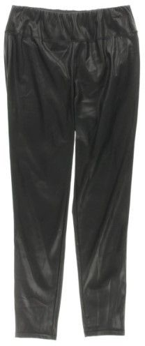 Lauren Ralph Lauren Black Women's Size 18W Plus Faux Leather Pants