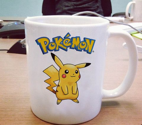 Pokemon Pikachu Ceramic Mug #mug #ceramicmug #ceramic #coffemug #teamug #cup #funnymug