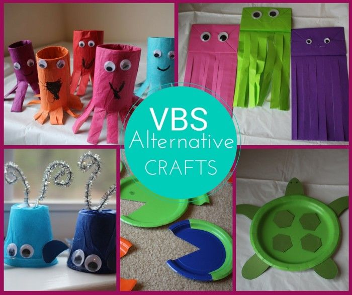 VBS 2016 Submerged - Alternative Craft Ideas with step by step instructions from Rebecca Autry Creations