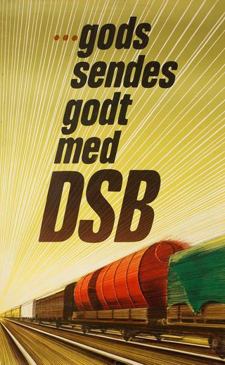 DSB (Danske Statsbaner - Danish State Railways), is the largest Danish train operating company, and the largest in Scandinavia.
