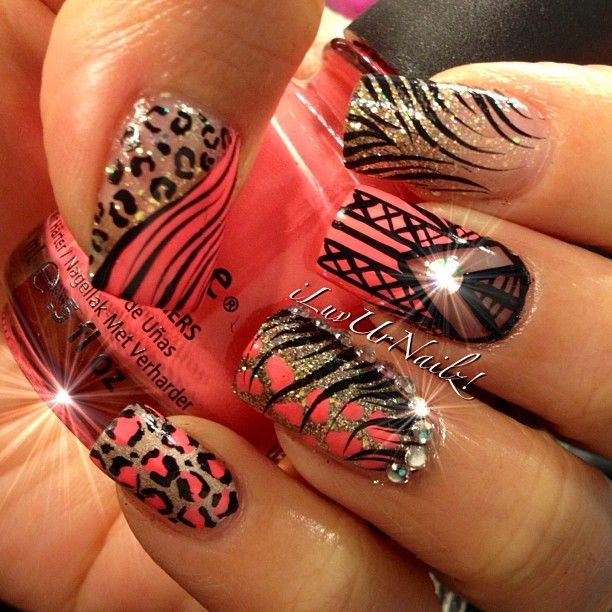 Instagram photo by  iluvurnailz  #nail #nails #nailsart