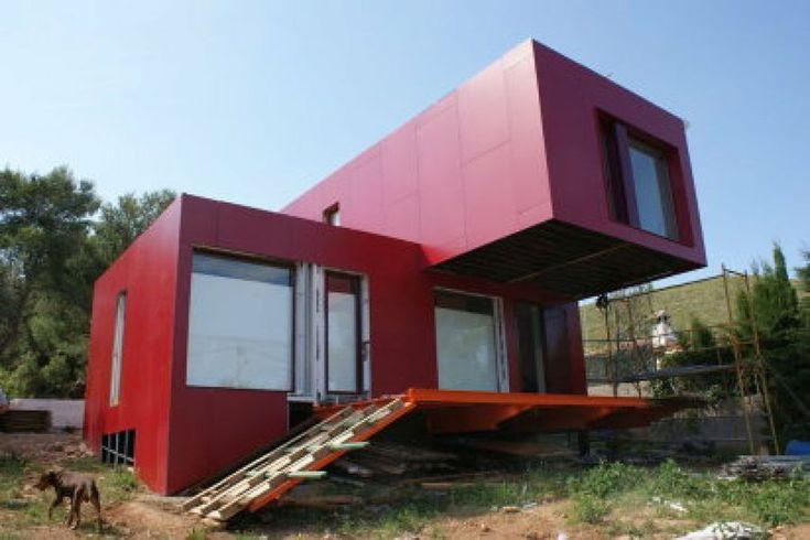 Construcciones sostenibles con contenedores marítimos