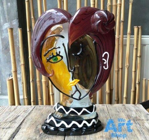 Aida Picasso Glasskulpturen