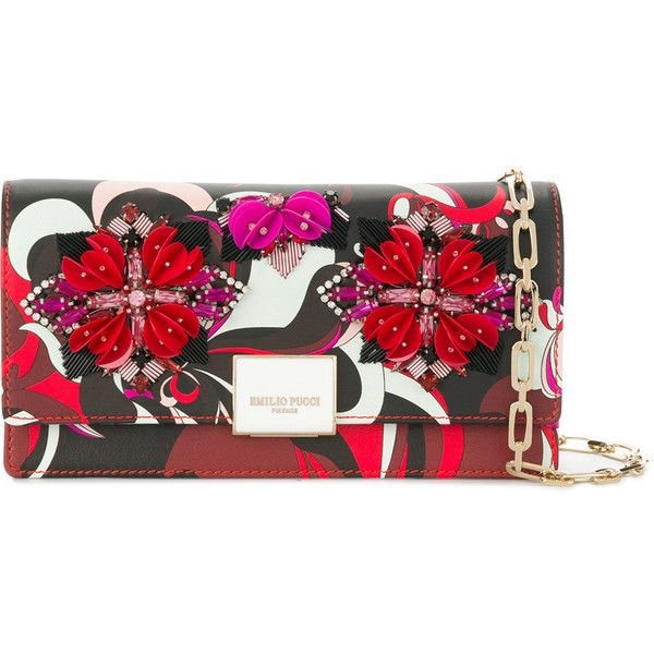 Emilio Pucci Embellished Clutch Bag 1 910 Liked On Polyvore