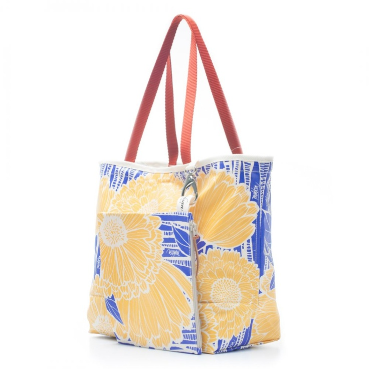 Bags & Totes: Siesta Tote Yellow Sunflower $87