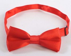 Boys Bowtie Red