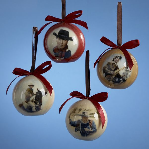 #JOHNWAYNE DECOUPAGE BALL ITEM # JW9801 #johnwayneornaments   John Wayne   Christmas  Ornaments, Ornaments, Christmas - JOHNWAYNE DECOUPAGE BALL ITEM # JW9801 #johnwayneornaments John