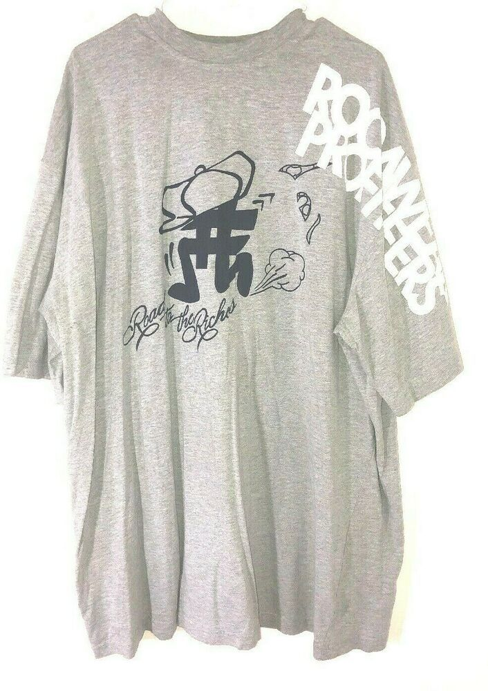 2d954b351 Rocawear Mens 4XL Graphic T Shirt Tee Gray/ Blue Road To Riches Jay Z  #Rocawear #GraphicTee #Casual
