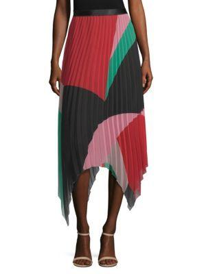 96e4d8c7c Joie - Dashiella Colorblock Pleated Handkerchief Skirt #pleatedskirt ...