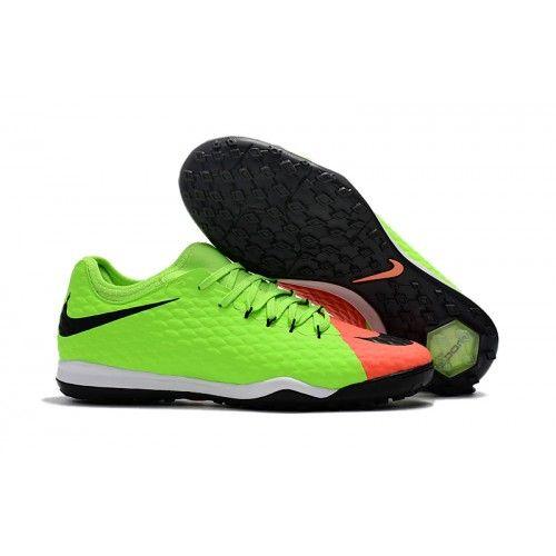 42db21b106724 Botas De Futbol Nike HypervenomX Finale II TF Verdes Rojas Baratas Online