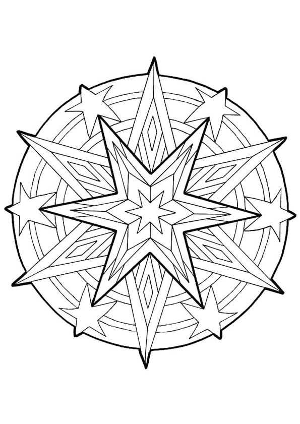 celestial coloring pages - photo#34