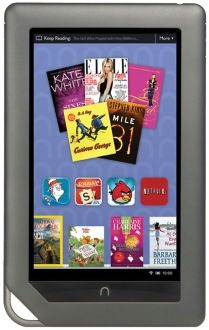 Ask for an ereader for a gift (or invest in one). Ebooks are cheaper than most print editions and you never have to pay shipping. This is great for when you can't get to the library, or their suppliers can't get you the books you ordered.: Nookcolor, Favorite Things, Colors, Nook Color, Book, Nooks