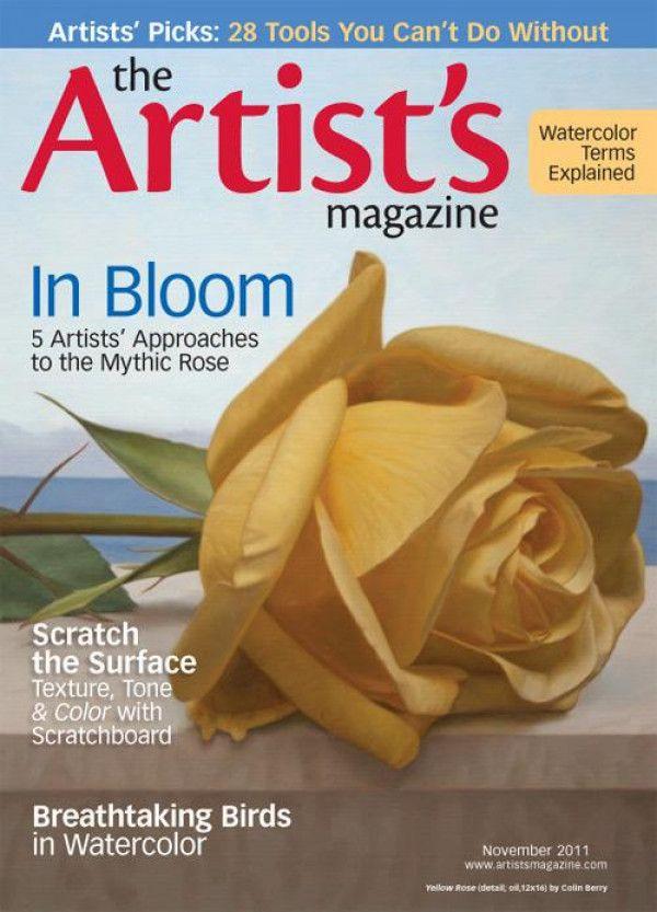 The Artist S Magazine November 2011 Digital Download The Artist