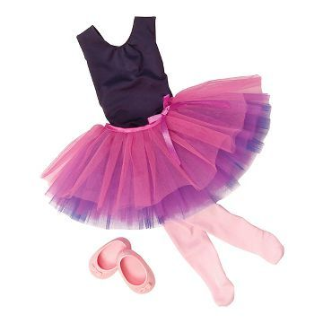 Our Generation® Dance Outfit - Dance Tulle You Drop™- Braelyn- doesn't have to be this outfit... tho its cute... really just any of the outfits for the my generation dolls