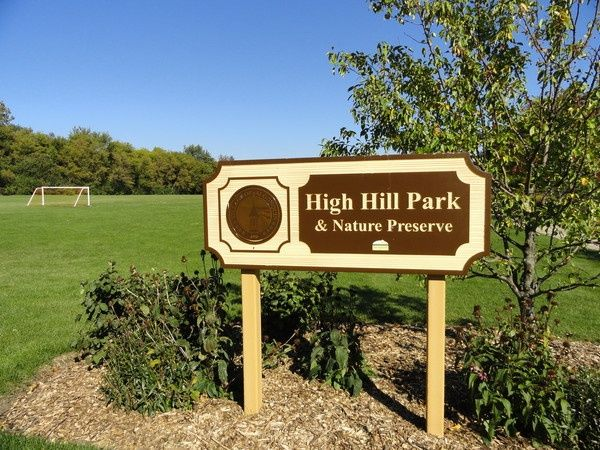 Get a group of #friends together and #play a game of #soccer at #High #Hill #Park in #Algonquin #Illinois #field #goal #friends #sports #summer