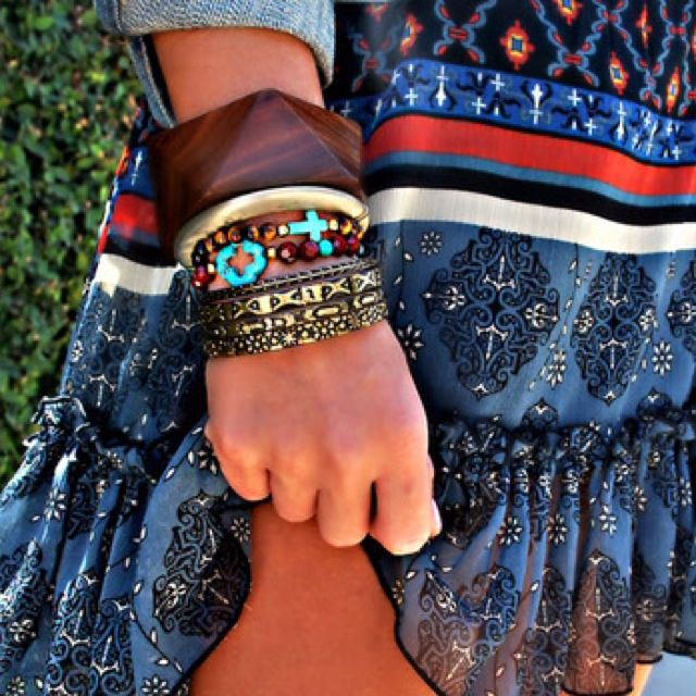 Boho Chic, Boho Summer, Style, Skirts, Bracelets, Red White Blue, Boho Jewelry, Summer Clothing, Boho Fashion