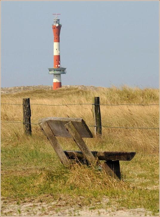 The new lighthouse on Wangerooge (Deutschland) -- photo by Thekla Janssen