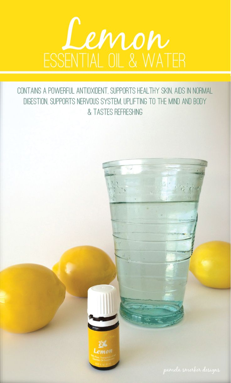 The Benefits Of Lemon Essential Oil And Water Pamela