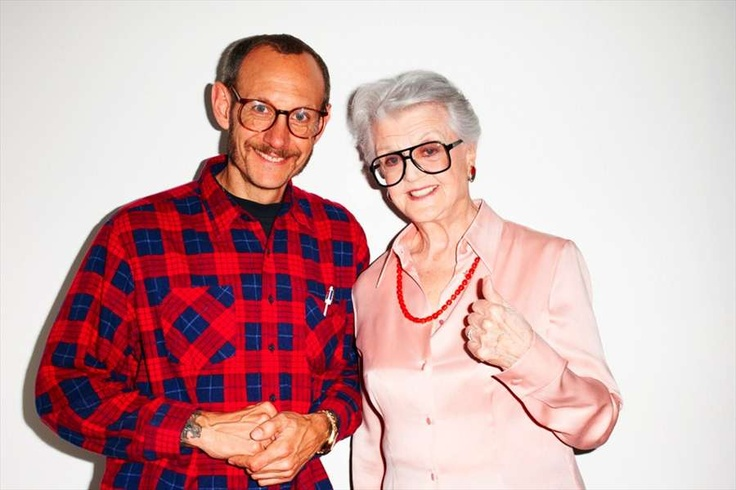 Terry & Angela #terryrichardson #angelalansbury