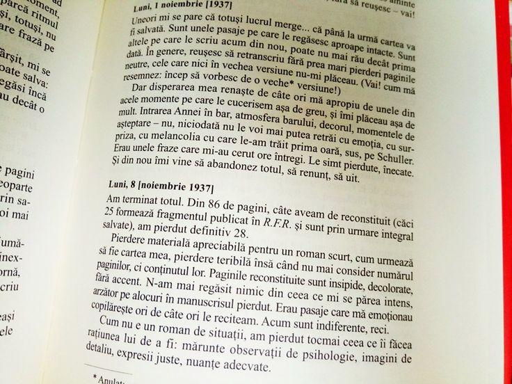 Jurnal de Mihail Sebastian – o explorare a vietii culturale, literare, politice a Bucurestiului interbelic (2)