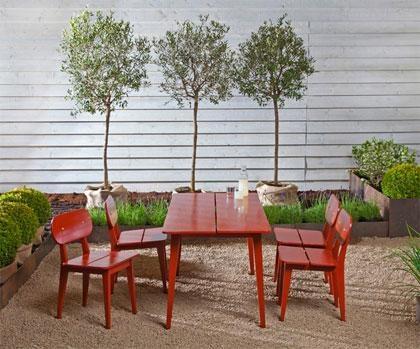 Matilda outdoor furniture Berga Form