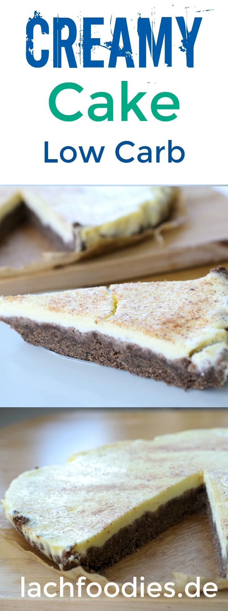Creamy low car cheesecake recipe without sugar. An delicious low carb dessert for everyday.