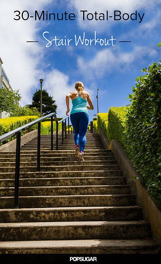It's Getting Hot in Here! 30-Minute Total-Body Indoor Stair Workout