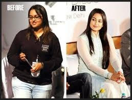 Sonakshi Sinha Before After