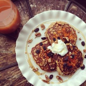 Easy carrot cake recipes with applesauce and pineapple pancakes