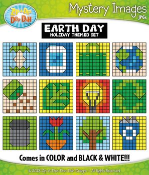 EARTH DAY Create Your Own Mystery Images Clipart SetYou will receive 25 clipart graphics that were hand drawn by myself; 12 Color and 12 B/W Outlined Graphics. I have also included 1 Transparent Numbered Chart, 1 Transparent Blank Grid, and 1 B/W Blank Grid in case you wanted to create your own.