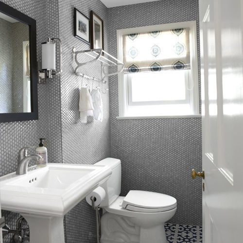 Penny Tile On Walls!!!!! How Cute Is That!