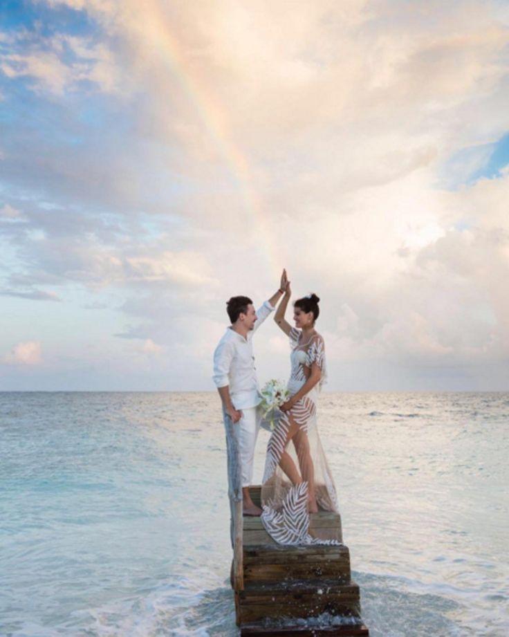 De mooiste bruiloften van modellen en beroemdheden in 2016 op een rij - Vogue Nederland