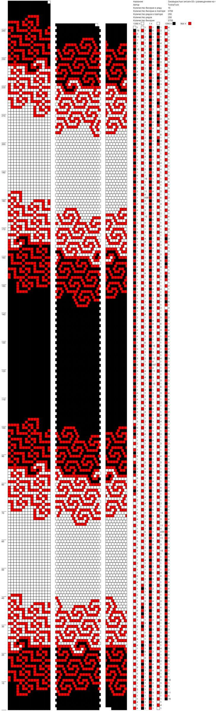 Заковыристые зигзаги 03 с размещением на манер IriS-ka Ирина Смолина в3 0,32 (15) http://crochetbeadpaint.info/raports/1999995