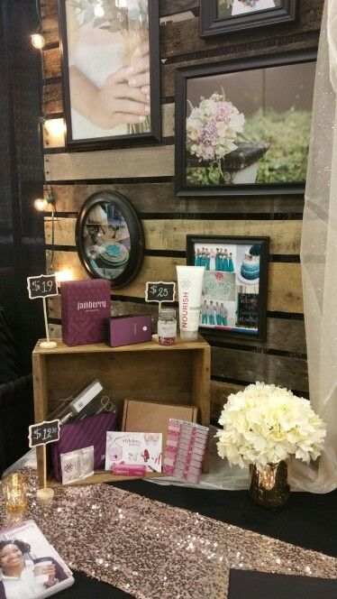 Jamberry Nails Bridal Expo booth Jan 2015 Grand Rapids, MI
