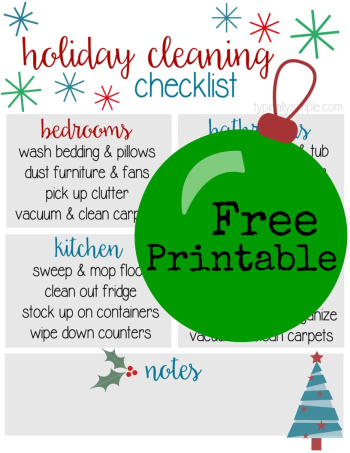 Holiday Cleaning Tips {Free Printable} and Bissell Vacuum Giveaway