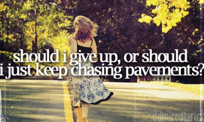 Chasing Pavements-Adele