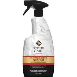 Stone Care International 24 oz. Granite and Stone Sealer 5187 at The Home Depot - Mobile