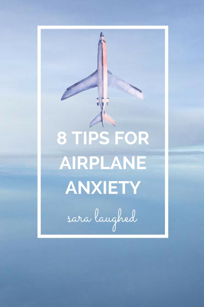8 tips for airplane anxiety! #travel #flying #stress