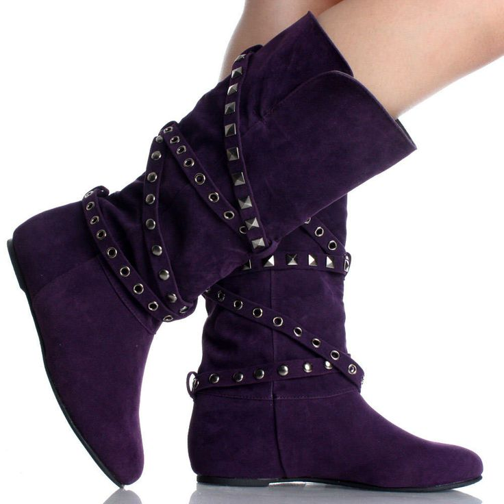 purple+boots+for+women