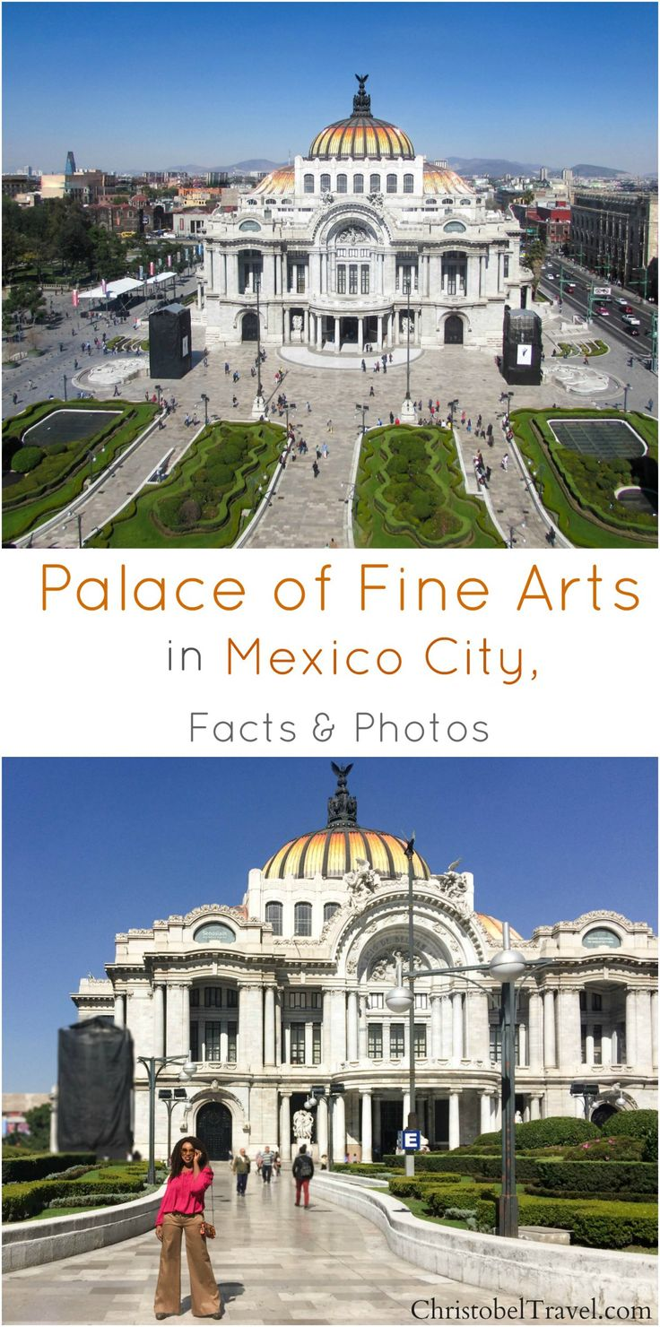 Palace of Fine Arts (Palacio de Bellas Artes) is one of the best and must see attractions in Mexico Mexico City / Downtown / Ciudad de Mexico / Zocalo.  Click link for Facts and Photos - by Christobel Travel  ( Picture / photography guide). Other places to see in Downtown are Mexico City Metropolitan Cathedral and it's architecture/ interior decor, museums,  Mexico doors, street markets full of culture, tours. Mex tourism offices giving vacation tips are also there.